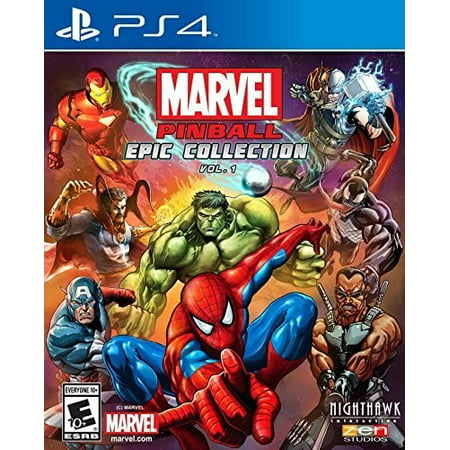 Marvel Pinball: Epic Collection Vol. 1 for PlayStation - Racer Pinball