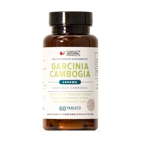Garcinia Cambogia Pure Extract Tablets 1000mg 60 Pills 100 Premium Natural Weight Loss Detox Supplement