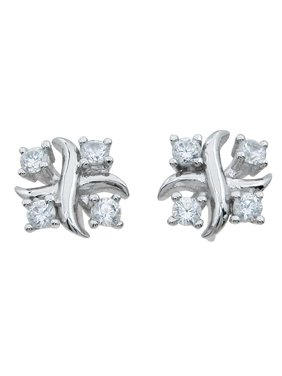 925 Sterling Silver Earring Studs Makes Unique Anniversary Gift For Her, Sterling Silver Stud Earrings
