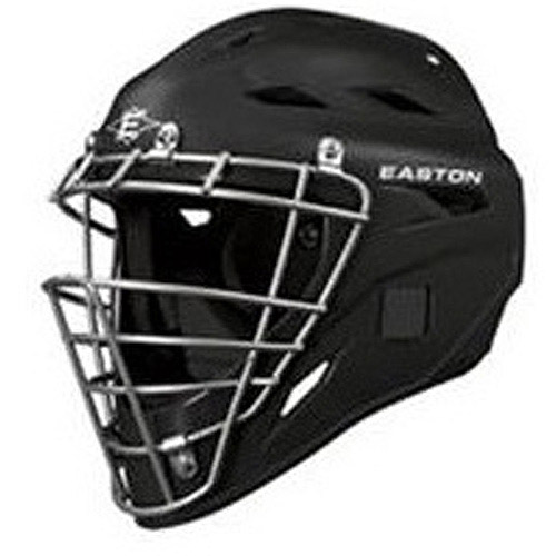 Easton Black Magic Catcher Helmet, Black, Small