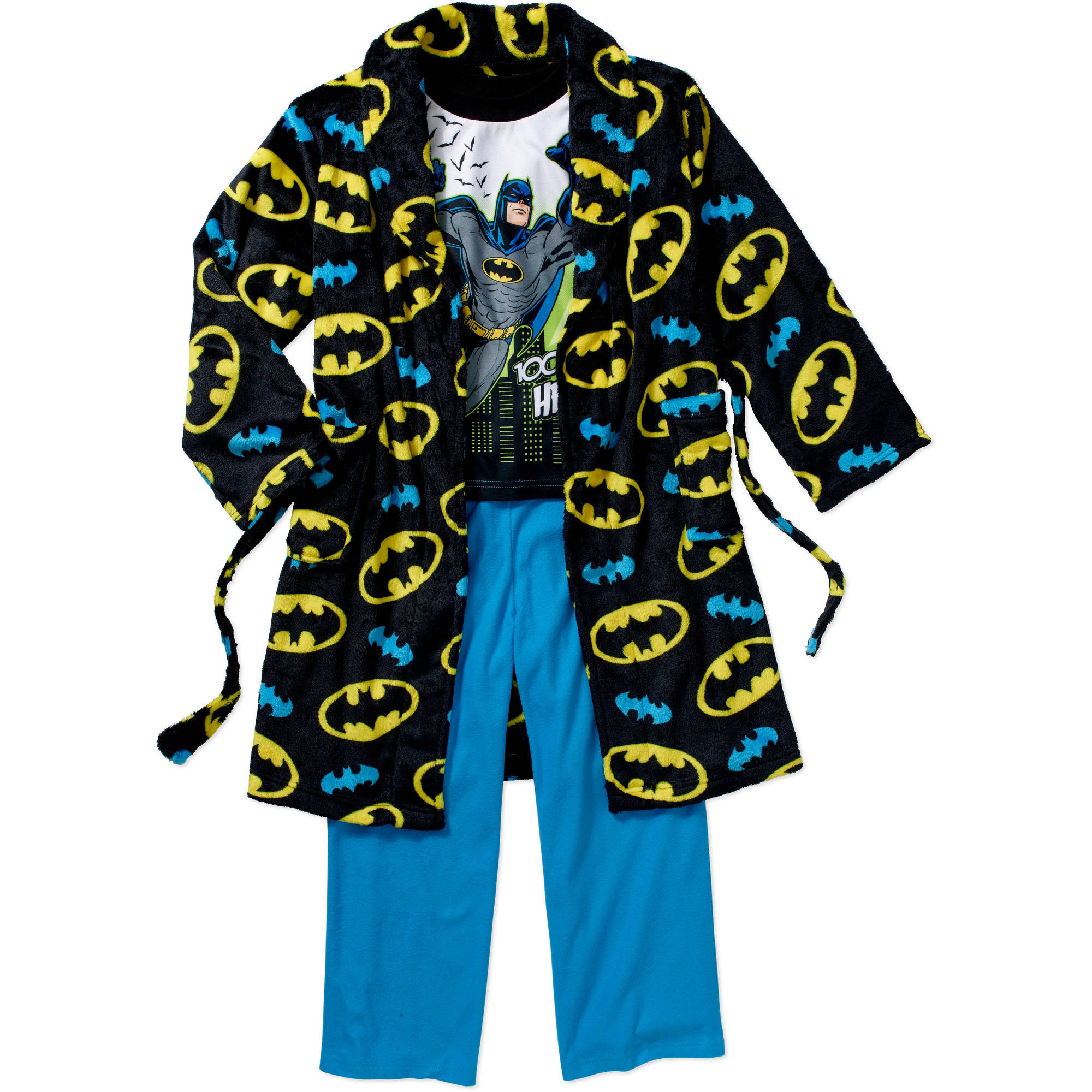 Boys' Licensed 3 Piece Robe Set, Available in 5 Characters