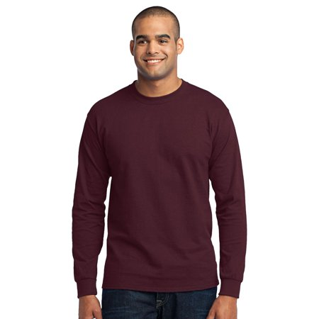 Port & Company Men's Big And Tall Shrink Resistant T-Shirt