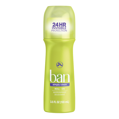 Ban Simply Clean Roll-On Deodorant 3.5 (Coupons For Ray Bans)