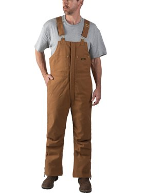 Walls Industries Men's Stretch Duck Insulated Bib Overall