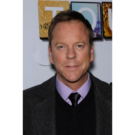 Kiefer Sutherland At Arrivals For Touch Screening And Panel Discussion Rolled Canvas Art     8 X 10