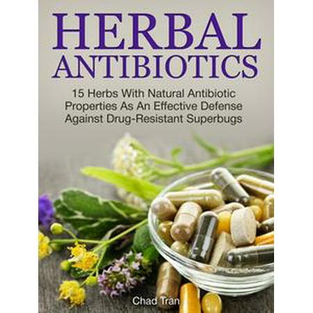 Herbal Antibiotics: 15 Herbs With Natural Antibiotic Properties As An Effective Defense Against Drug-Resistant Superbugs -