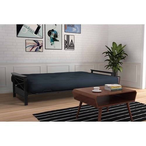 Medium image of alessa futon frame with 6