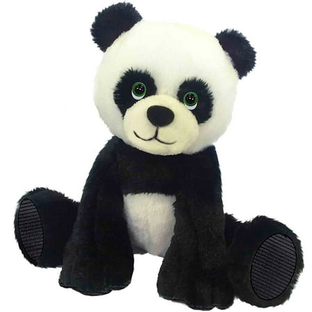First And Main Floppy Friends Panda 7   Plush