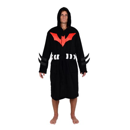 Comics Batman Beyond Hooded Fleece Robe (One Size)](Batman Robe)