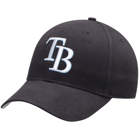 Tampabay Rays (Tampa Bay Rays Fan Favorite Basic Adjustable Hat - Navy -)