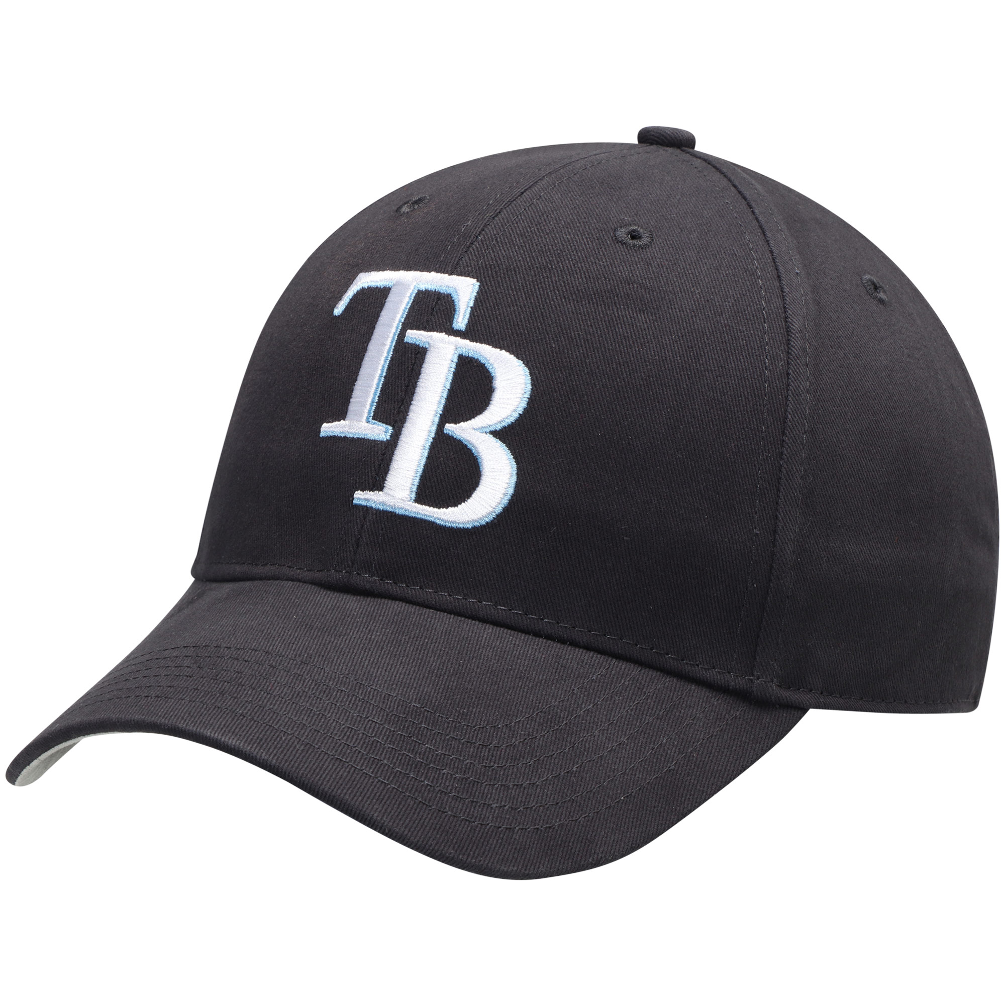 Tampa Bay Rays Fan Favorite Basic Adjustable Hat - Navy - OSFA