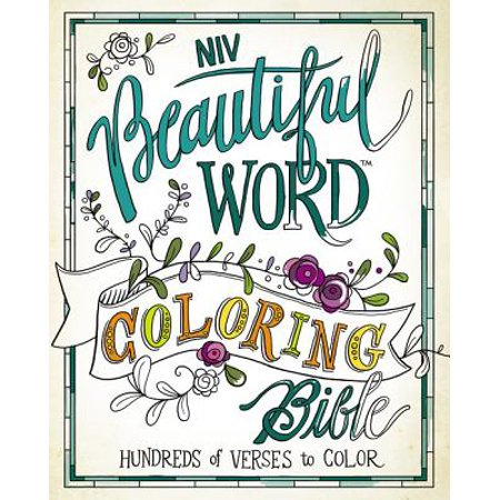 Beautiful Word Coloring Bible-NIV : Hundreds of Verses to Color