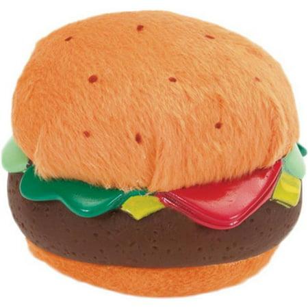 Coastal Pet Products 84202 3.5 in. Lil Pals Plush & Vinyl Burger