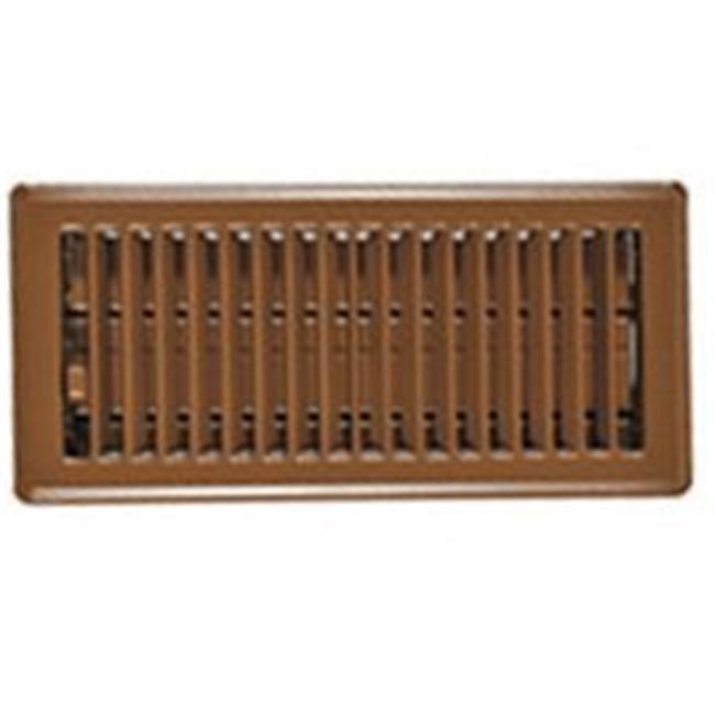 RG2005 Brown Floor Register 4 x 12 In.