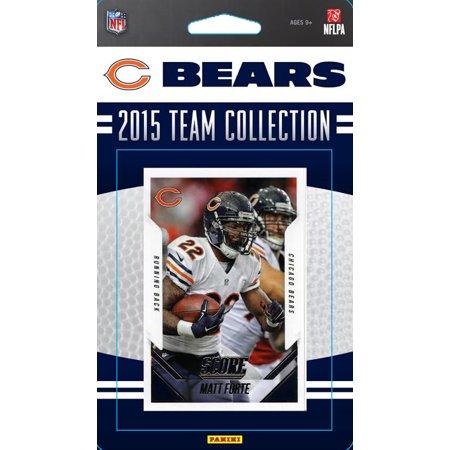 2015 Score Nfl Team Set   Chicago Bears