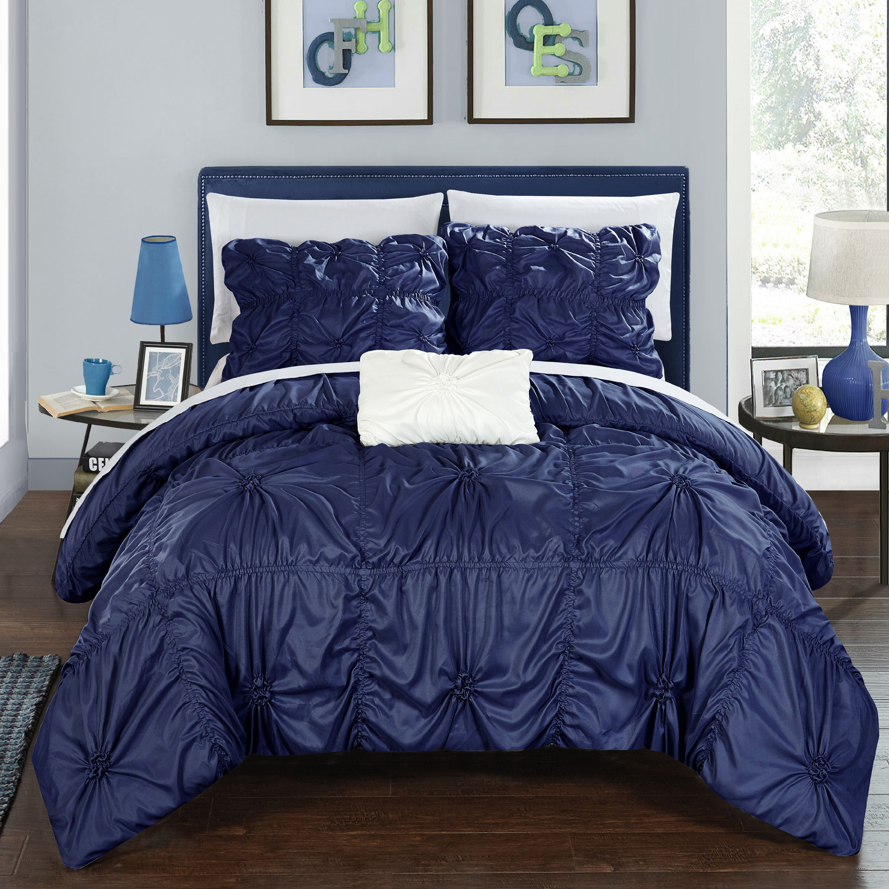 Chic Home 8-Piece Benedict Bed In a Bag Duvet Set