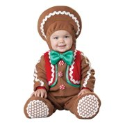 InCharacter Costumes Baby's Sweet Gingerbaby Costume Brown/Red/Green, Large