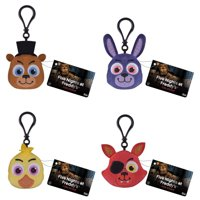 Funko Plush Keychain - Five Nights at Freddy's - SET OF 4 (Foxy, Chica, Bonnie & Freddy), New By Five Nights at Freddys