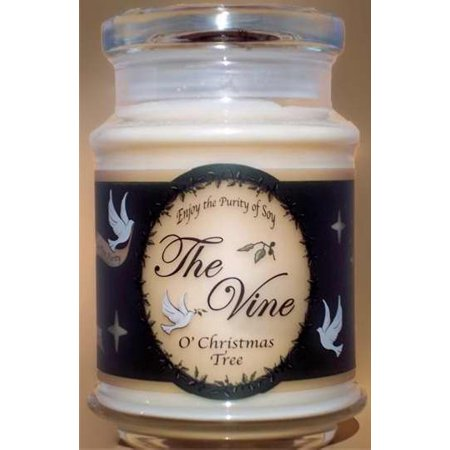 Candle - Jar - O Christmas Tree (Soy) - John 12:46 (12 Oz)