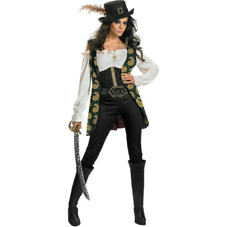Pirates of the Caribbean Angelica Adult Halloween Costume