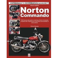 Enthusiast's Restoration Manual: How to Restore Norton Commando (Paperback)