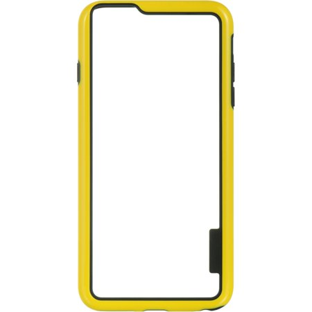 Insten Hard Hybrid Crystal TPU Case for Apple iPhone 6s Plus / 6 Plus - Clear/Yellow - image 2 of 5
