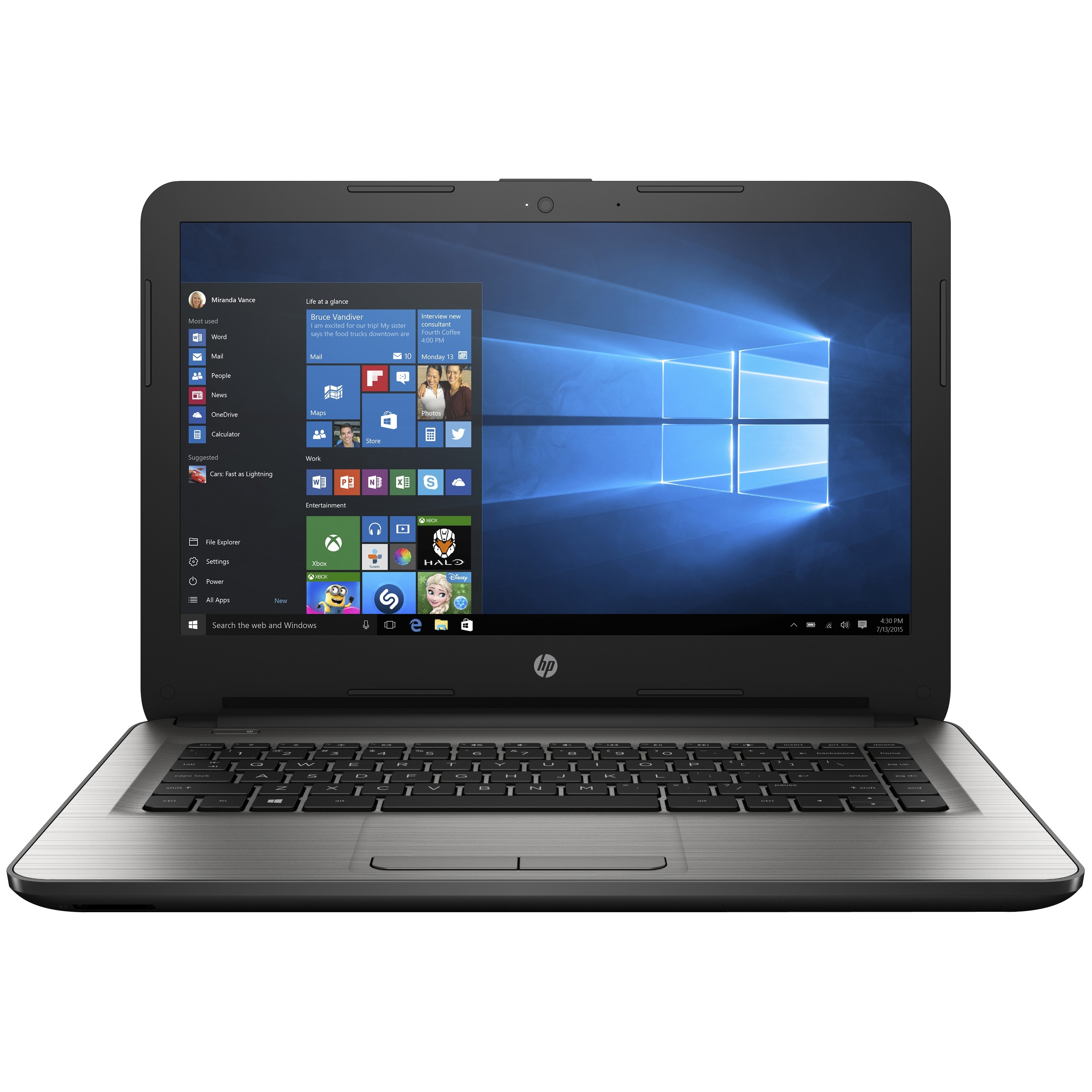 "HP 14"" Notebook w/ AMD E-Series Dual-core, 2GB RAM, & 32GB Flash Memory"