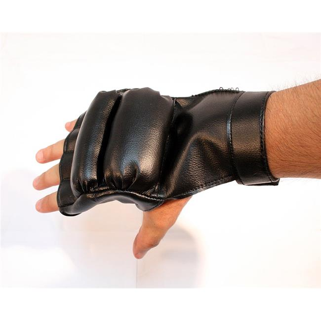 Boxing Training Gloves - Black, Extra Large
