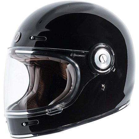 TORC Flat Black Checker T5515CK26 T55 Spec-Op Motorcycle Half Helmet with Graphic and Drop-Down Sun Visor, (Motorcycle Flat)