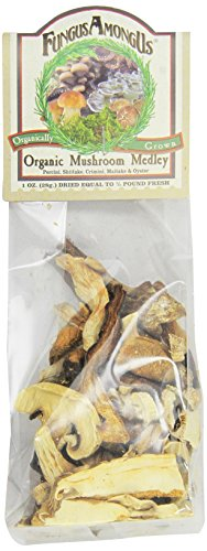 Fungus Among Us Dried Mushroom Medley 1 Oz (Pack of 8) by Fungus Among Us