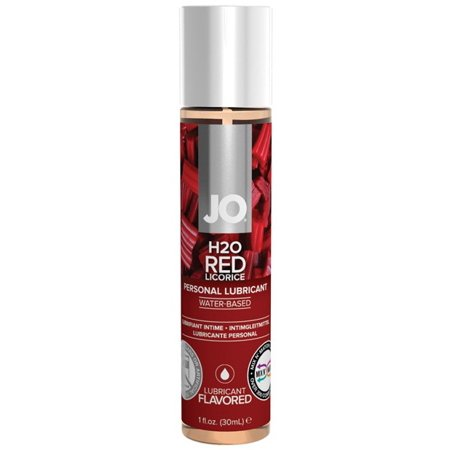 DISCONTINUED BY VENDOR System JO H2O Flavored Lubricant - 1 oz Red Licorice