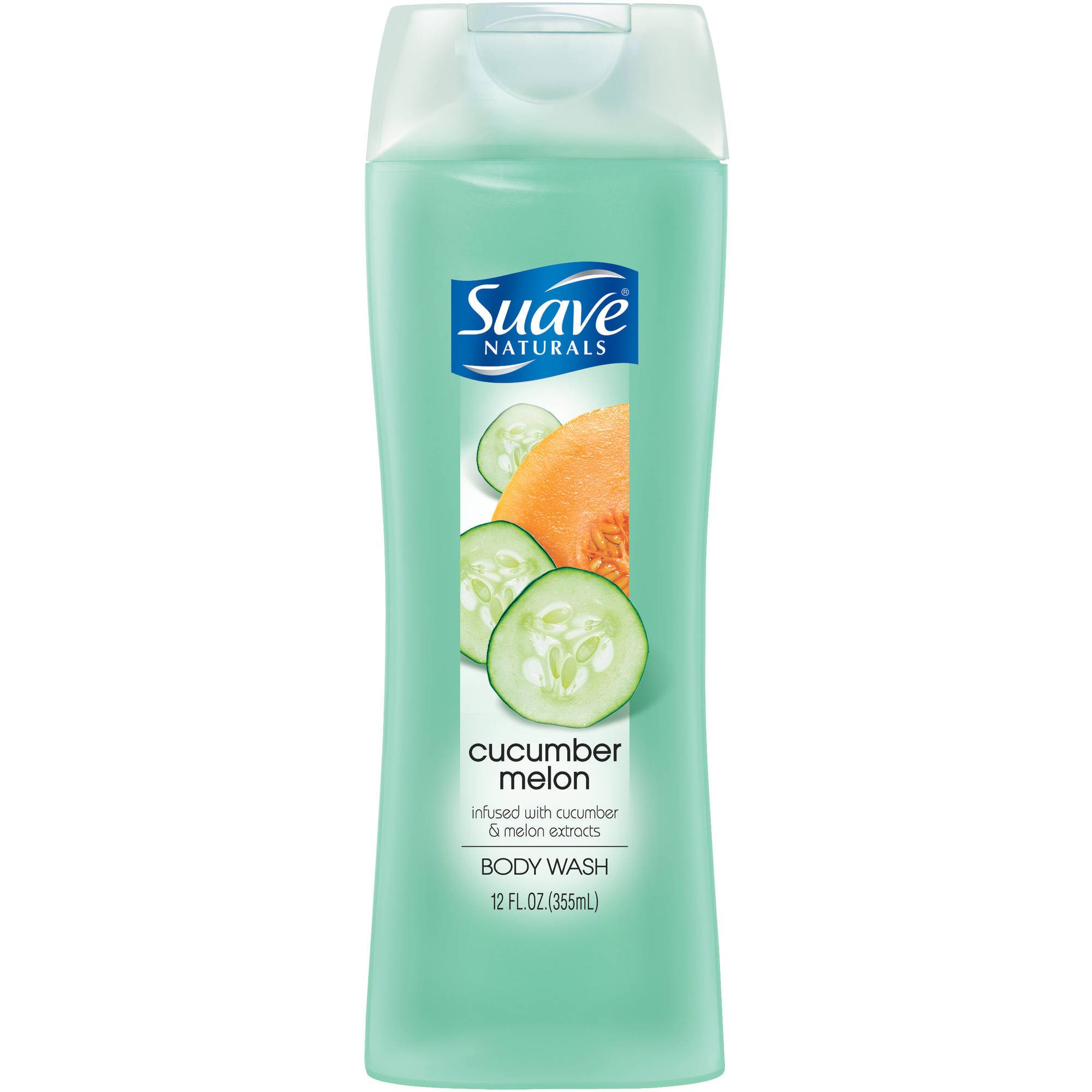 Suave Naturals Cucumber Melon Body Wash, 12 oz