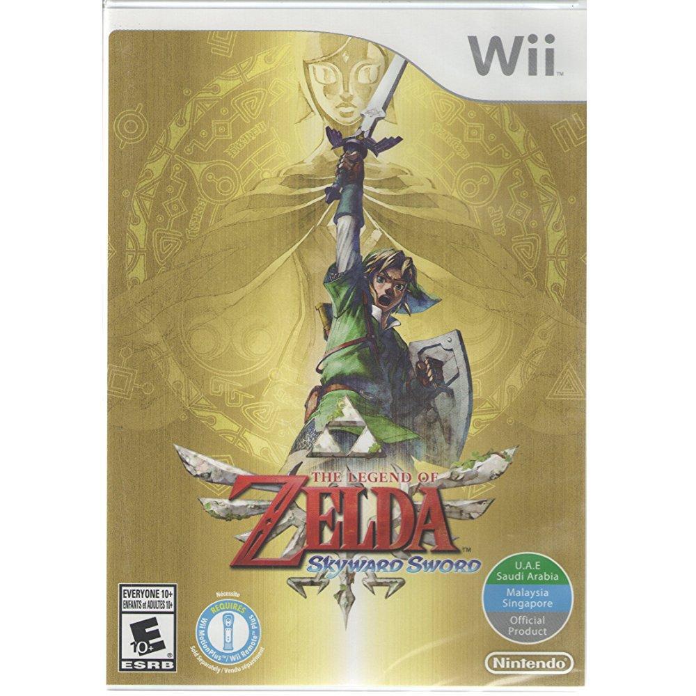 legend of zelda skyward sword - world edition (nintendo wii)