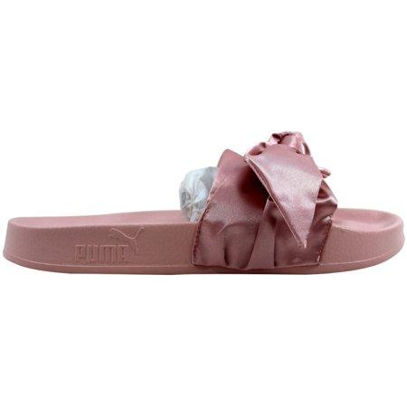 on sale 6515c 0d1fb Puma Women's Bow Slide Silver Pink/Puma Silver Fenty 365774 03