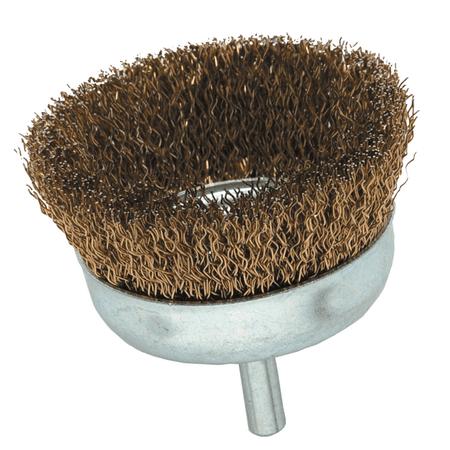 Coarse Brass Wire Cup Brush 3