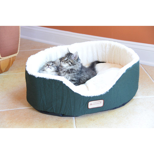 Armarkat Cat Dog Pet Bed in Laurel Green