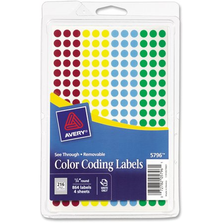 See Through Color Dots