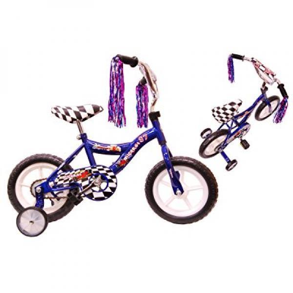 Boys' 12 Inch Micargi Blue MBR Bike