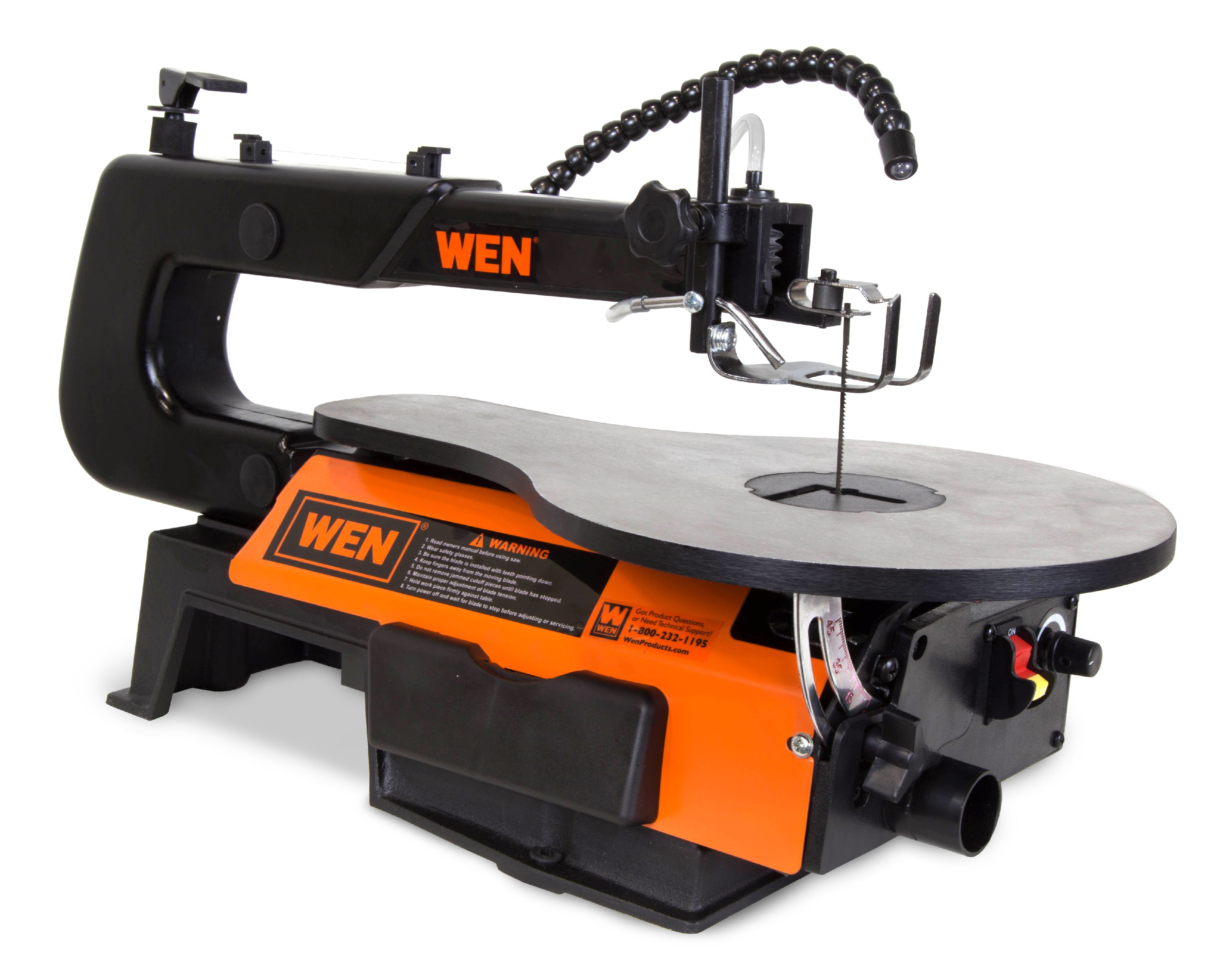 WEN 16-inch Two-Direction Variable Speed Scroll Saw, 3921 by WEN