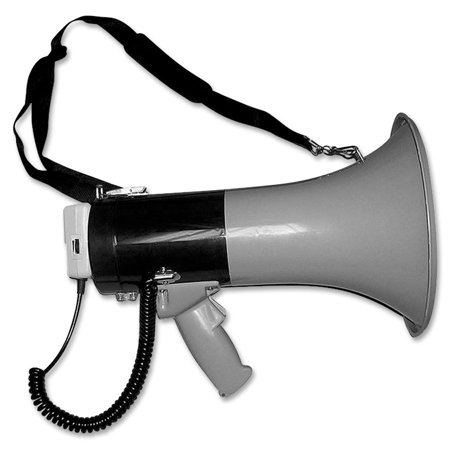 Tatco, TCO27900, Lightweight Hand Megaphone, 1 / Each, Gray,Blue](Megaphones For Sale)