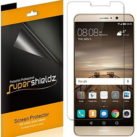 [6-pack] Supershieldz for Huawei Mate 9 Screen Protector, Anti-Bubble High Definition (HD) Clear Shield](huawei mate 9 us)