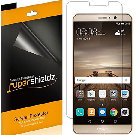 [6-pack] Supershieldz Huawei Mate 9 Screen Protector, Anti-Bubble High Definition (HD) Clear Shield](huawei mate 9 deals)
