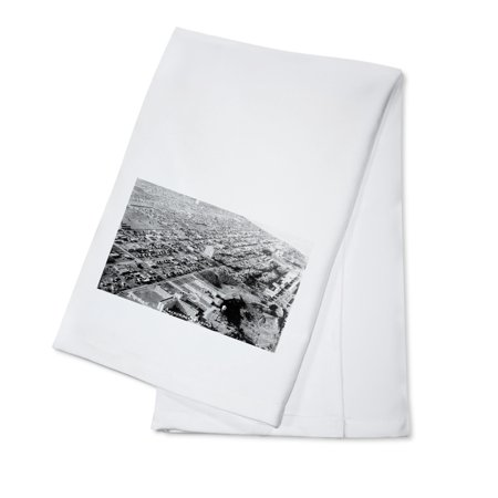 Anchorage, Alaska - Aerial View of City Photograph (100% Cotton Kitchen Towel)](Party City Anchorage)