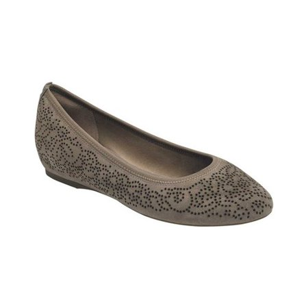 Women's Rockport Total Motion 20mm Perforated Ballet Flat ()