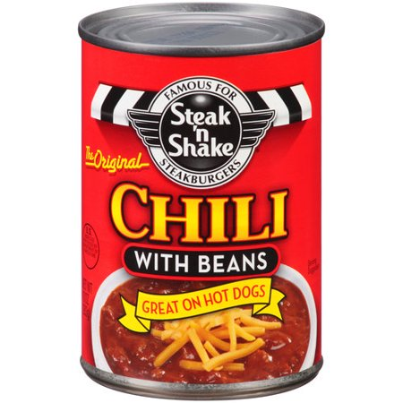 Pinnacle Steak N Shake Chili With Beans  10 Oz