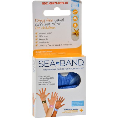SeaBand Acupressure Child Wristband, 2 Ct, Color & Design May Vary