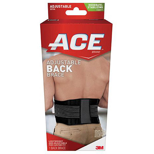 ACE Moderate-Stabilizing Support Adjustable Back Brace, 207744