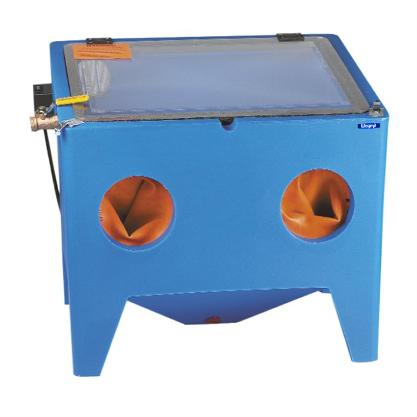 Sandblast Cabinet Bench Top Air Sand Blaster Sand Blast u2013 Made in USA  sc 1 st  Walmart & Sandblast Cabinet Bench Top Air Sand Blaster Sand Blast u2013 Made in ...