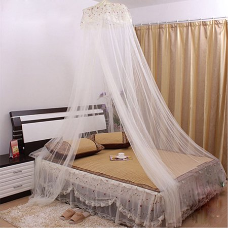 Bedroom Dome Shaped Bugs  Mosquito Net Bed Canopy White