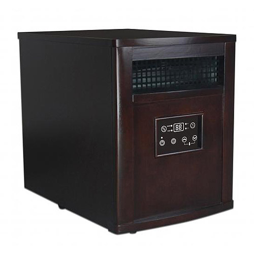 Decor Flame Infrared Heater, Cappuccino